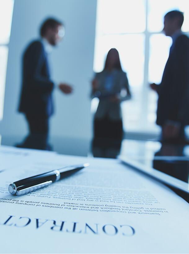 Consultations juridiques et contrats